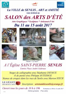 2017 Affiche salon AOUT + LOGOS