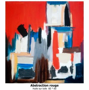 Abstraction rouge