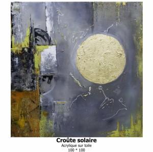 Croûte solaire